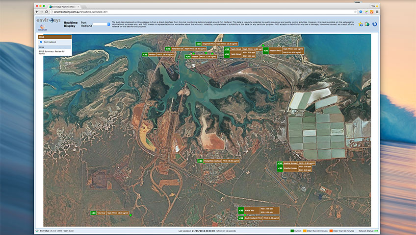 Port Hedland Monitoring System